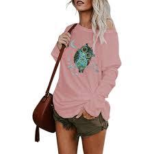 Special Offers <b>t shirt</b> cotton <b>owl</b> animal <b>print</b> brands and get free ...