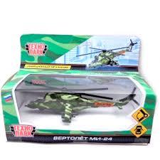 Купить <b>Модель вертолета Технопарк Вертолет</b> МИ-24 15 см SB ...