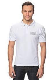 """Мужские рубашки поло c неординарными принтами """"Музыка ..."""