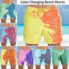 <b>Men's</b> Swim Shorts <b>Color Changing</b> Swimming Trunks <b>Beach</b> Board ...
