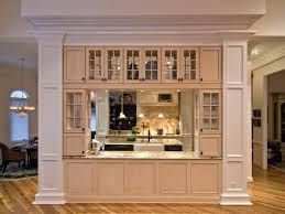 built in cabinets in dining room