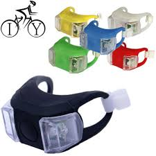 <b>1pcs Bike</b> Light Silicone <b>Rear</b> Light Night <b>Bicycle</b> Lights LED Front ...