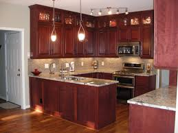 Dark Brown Kitchen Cabinets 17 Best Images About Cherry Cabinets On Pinterest Countertops
