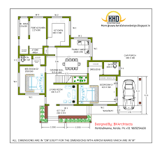 story house design and plan   Sq  Feet   Kerala home design     storey house ground floor drawing   Sq  M   Sq  Feet