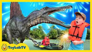 Giant Life Size <b>Spinosaurus Dinosaur</b> Jurassic Adventure & Fun ...