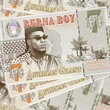 <b>Burna Boy</b> - <b>African</b> Giant