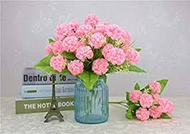 Pink - Artificial Flowers / Artificial Flora: Home & Kitchen - Amazon.in