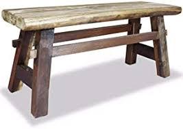 Reclaimed Wood Bench - Amazon.com