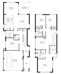 Bedroom House Designs Perth   Double Storey   APG Homesview floorplans