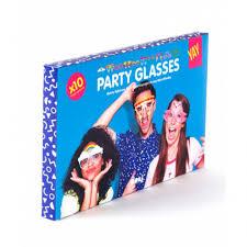 Купить <b>Бумажные очки для вечеринок</b> Crazy Glasses ...