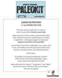images about paleo nutrition facts on pinterest  paleo diet  paleo