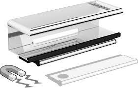 <b>Полка Black&White Swan</b> SN-2351 со стеклоочистителем в ...
