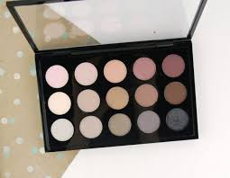 <b>MAC</b> Cosmetics <b>Eye Shadow</b> x 15: <b>Cool</b> Neutrals palette – Swatch ...
