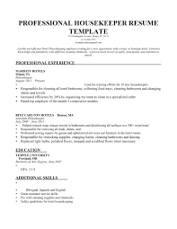 example resume additional skills resume and cover letter example resume additional skills skills to put on a resume the interview guys housekeeping resume samples