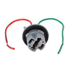amazon com partssquare 2x socket connector wire harness for brake amazon com partssquare 2x socket connector wire harness for brake signal light bulb 7440 t20 w21w automotive