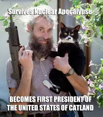 The last survivor on earth, President Meme and his two constant ... via Relatably.com