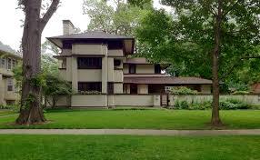 Frank Lloyd Wright    s Oak Park  Illinois Designs  The Prairie    IMG  a