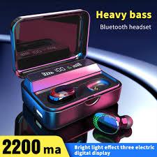 FLOVEME TWS Breathing Wireless <b>Bluetooth</b> 5.0 Earphone Smart ...