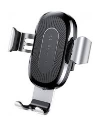 <b>Держатель Baseus Wireless Charger</b> Gravity Car Mount Silver ...
