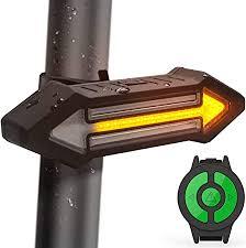 HAHAKEE <b>Bike Tail Light</b> Wireless Remote Control, <b>Turn</b> Light and ...