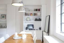 solid walnut hidden home office shiro home office hideaway view in gallery hideaway home office desk bedford grey painted oak furniture hideaway office