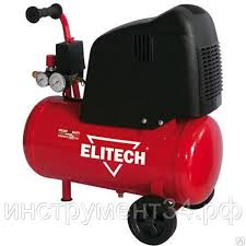 <b>Компрессор безмасляный Elitech</b> ОМ 195/24 : продажа, цена в ...