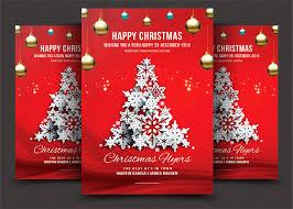 christmas flyer flyer templates on creative market