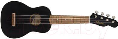 <b>Fender Venice</b> Soprano Ukulele Black WN <b>Укулеле</b> купить в Минске