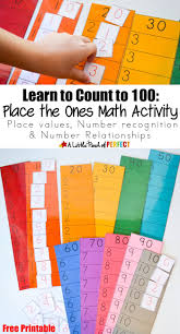 best ideas about math help life hacks math learn to count to 100 place the ones printable math activity helps kids