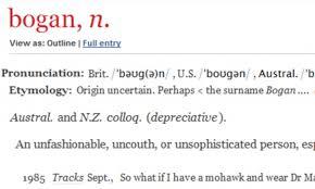 Bogan' fury: Anger as Australian term similar to 'Chav' is ... via Relatably.com