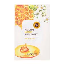 <b>Маска тканевая с экстрактом</b> меда Natural Honey Mask Sheet 21мл