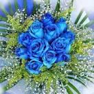 الورد الازرق .. ( خاص بالمسابقة ) ..