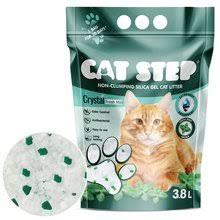 03549 <b>Cat Step Crystal</b> Fresh Mint 1,67kg 3,8l / 8 - Cat Step ...
