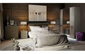 <b>Спальный гарнитур</b> «<b>Либерти</b>» №2 (Хадсон/Фон Серый) - купить ...