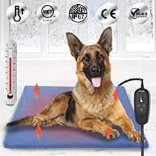 Upgraded Pet Heating Pad for Dogs Cats with Timer ... - Amazon.com