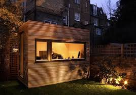 the rise of the backyard office backyard office pod cuts