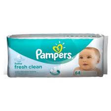 <b>Влажные салфетки Pampers</b> Baby Fresh Clean | Отзывы ...