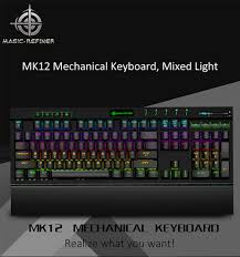 <b>Magic Refiner</b> MK12 Mechanical Keyboard Gaming Keyboard USB ...