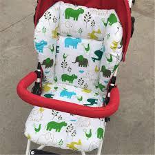 <b>Liner</b> Car Seat <b>Pad Padding Pram</b> Cartoon Animal Elephant <b>Print</b> ...
