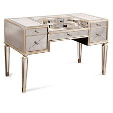 borghese mirrored vanity desk borghese mirrored furniture
