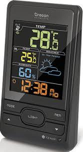 <b>Метеостанция Oregon Scientific BAR</b> 206 S-b черный купить в ...