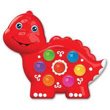 <b>Игрушка Динозаврик</b>, <b>Веселушки</b> - <b>Азбукварик</b>