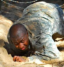 u s department of defense photo essay infantry recruits tackle confidence course