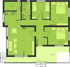 Gallery Of Bedroom House Bedroom House Plans Amp Home Designs    floor plan for small sf house   bedrooms and bathrooms