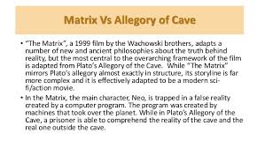 allegory of the cave and the matrix   matrix vs allegory of cave