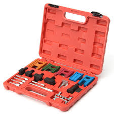 Hand Tools 19 PC Engine <b>Universal Timing Belt</b> Chain Camshaft ...