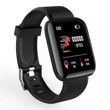 <b>A6 Smart Watch Heart</b> Rate Blood Pressure Monitoring Fitness ...