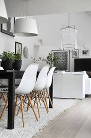 home accents interior decorating:  modern black amp white home decor ideas to copy mix in green plants for