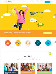 best education wordpress themes feedtip kids care