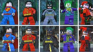 <b>Evolution</b> of Characters in <b>LEGO</b> DC <b>Batman</b> Super Heroes 2 vs 3 ...